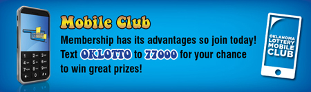 Ok Lotto - text OKLOTTO to 77000