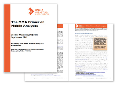 The MMA Primer on Mobile Analytics