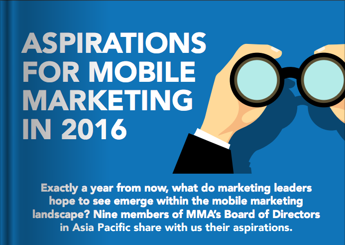 Aspirations for Mobile Marketing in 2016