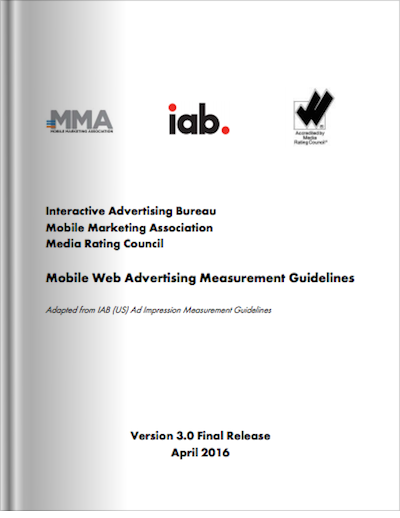 Mobile Web Advertising Measurement Guidelines