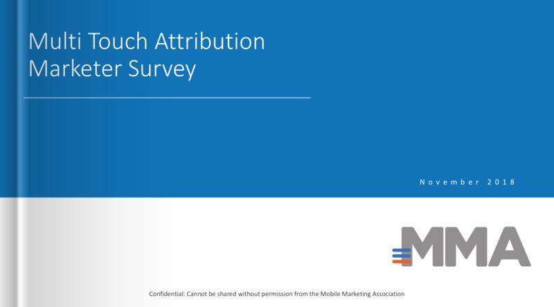Multi Touch Attribution Marketer Survey (November 2018)