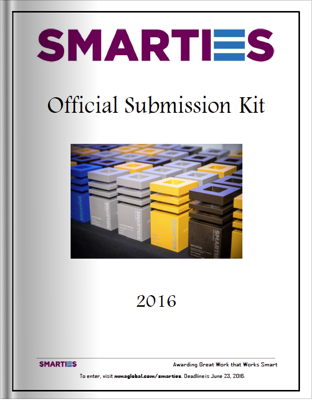 The Smarties 2016 Official Submission Kit