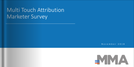 Multi Touch Attribution Marketer Survey (November 2018)