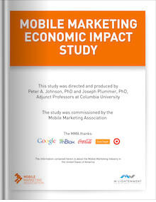 Mobile Marketing Economic Impact Study