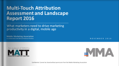 Multi-Touch Attribution Assessment and Landscape Report 2016