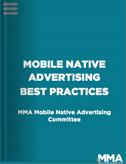 MMA Mobile Native Advertising Best Practices