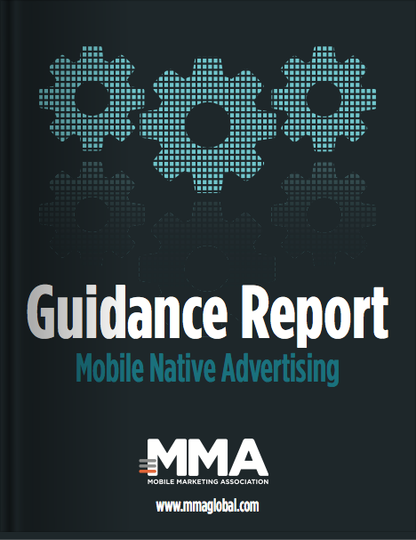 MMA Guidance Report: Mobile Native Advertising