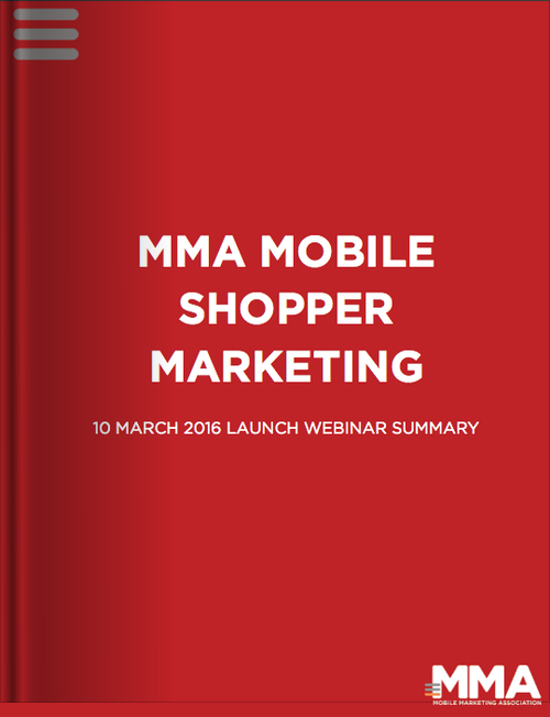 Mobile Shopper Marketing Webinar Summary