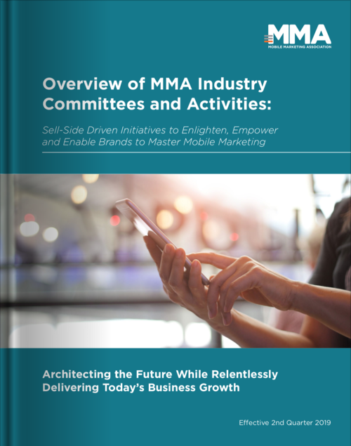 MMA Industry Programs and Plans Q2 2019
