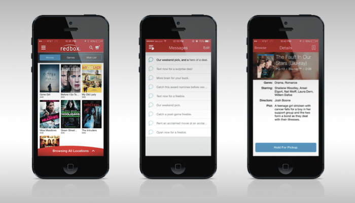 Redbox Makes Rentals a Breeze, Engages and Rewards Users