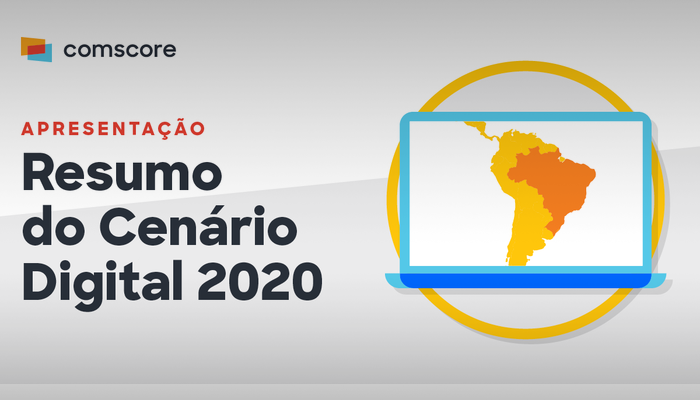 """Baixe a apresentação """"Resumo do Cenário Digital 2020"""", onde analisamos o ecossistema online para destacar as tendências e oportunidades emergentes mundiais e características exclusivas dos mercados da América Latina e Brasil."""