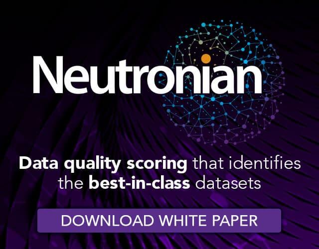 Data quality scoring that identifies the best in class datasets