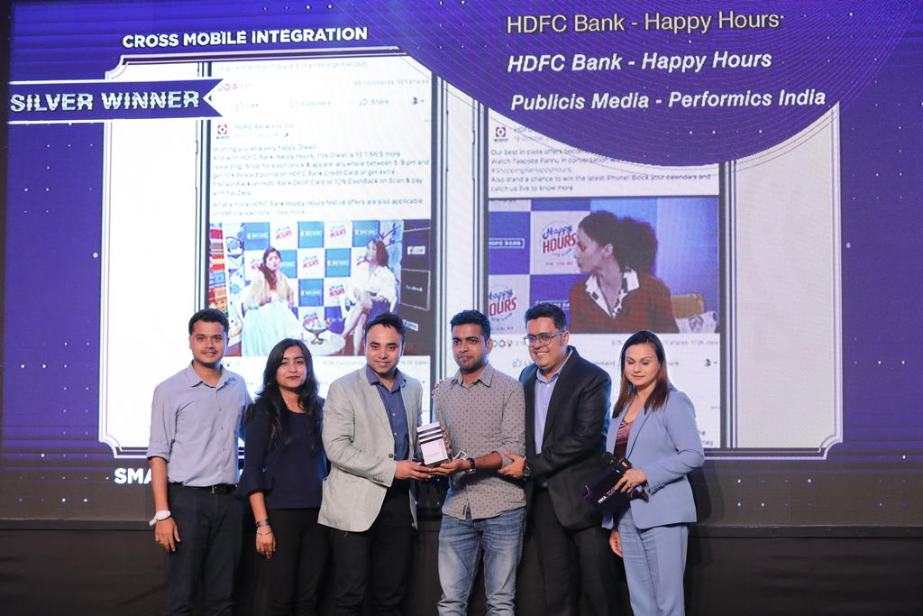 Team Publicis Media - Performics India with HDFC Bank