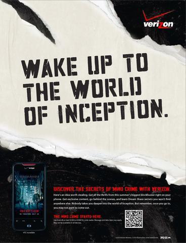 Verizon Print Ad