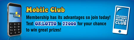 Ok Lotto - text OKLOTTO to 77000