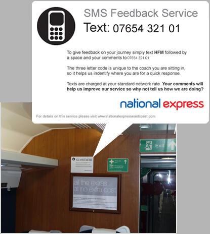 National Express Sticker