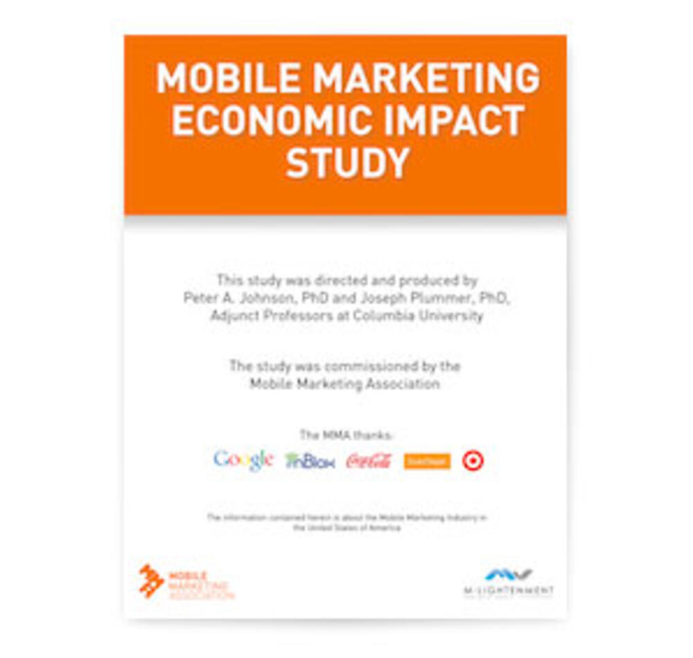 Mobile Marketing Economic Impact Study